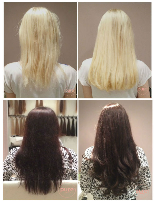 goedkope hairextensions inzetten